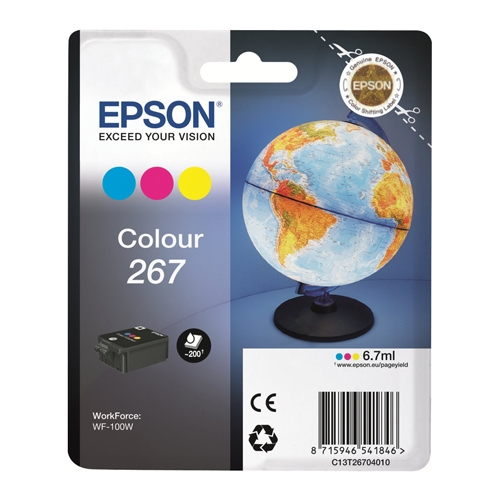 Epson Blækpatron 267 Color