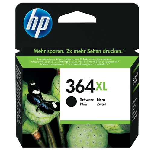 hp blækpatron CN684EE (364XL) sort